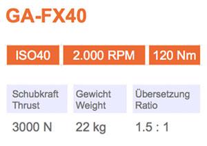 Winkelkopf GA-FX40 Gisstec