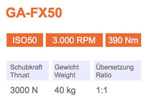 Winkelkopf GA-FX50 Gisstec
