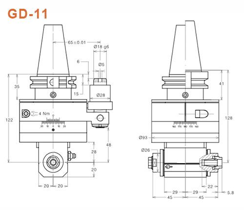 Winkelkopf GD-11 Gisstec