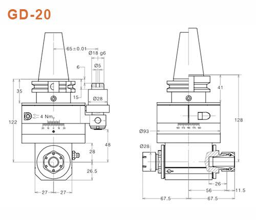 Winkelkopf GD-20 Gisstec